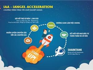 """Chương trình """"Tăng tốc khởi nghiệp iAngel"""" hỗ trợ doanh nghiệp khởi nghiệp"""