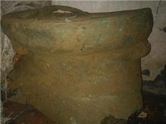 Phát hiện trống đồng 2.500 tuổi trong khu vực Thành nhà Hồ