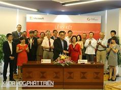 Microsoft phối hợp Thung lũng Silicon Việt Nam xây dựng hệ sinh thái khởi nghiệp