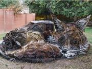 Chiêm ngưỡng những quái vật khổng lồ từ rác thải