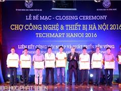 Hơn 150 tỷ đồng được ký tại Techmart Hanoi 2016