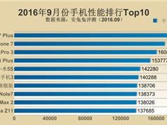 Top 10 smartphone mạnh nhất thế giới: iPhone 7 Plus đầu bảng
