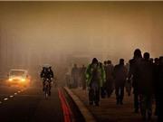 Nguy cơ gia tăng tai nạn giao thông vì ô nhiễm không khí