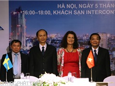 Việt Nam-Thụy Điển: Nhiều triển vọng hợp tác khoa học công nghệ, đổi mới sáng tạo