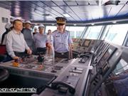 Kiểm ngư Việt Nam nhận bàn giao tàu tuần tra KN-390