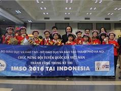 Đội tuyển Toán Việt Nam đứng đầu kỳ thi Olympic Toán và Khoa học quốc tế