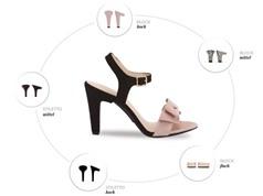 Clip: Giày cao gót có khả năng thay đế trong chớp mắt