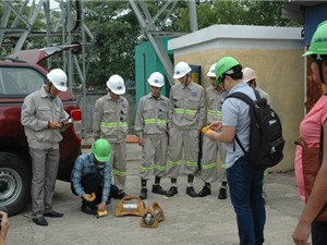 Thử nghiệm hệ thống giám sát, định vị nguồn phóng xạ