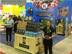 Tiêu và càphê 100% nguyên chất góp mặt tại Vietnam Foodexpo 2016