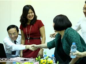 Hình ảnh toàn cảnh giao lưu trực tuyến về Giải thưởng Hồ Chí Minh, Giải thưởng Nhà nước