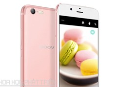 Smartphone đẹp như iPhone 7, camera selfie 13 MP, RAM 4 GB