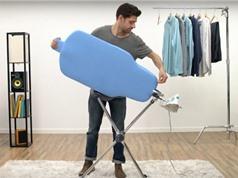 Clip: Chiếc bàn thông minh giúp việc ủi đồ dễ như trở bàn tay