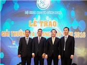 Tổ chức giải thưởng Tạ Quang Bửu năm 2017; Biến rác thải nhựa thành nấm ăn