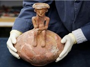 """Tìm thấy tượng """"người suy tư"""" 4000 năm tuổi ở Israel"""