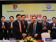 Bộ KH&CN và Trung ương Đoàn ký kết chương trình hợp tác