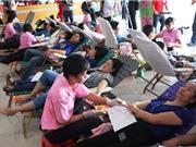 Những biện pháp giải quyết vấn đề thiếu nguồn máu cứu người
