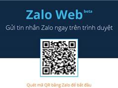 Hướng dẫn nhắn tin Zalo không cần cài đặt phần mềm