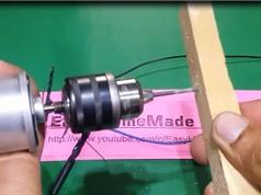 Clip: Hướng dẫn làm máy khoan mini