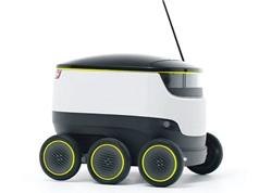 Clip: Khám phá về chú robot giao hàng tự động