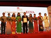 """Giải thưởng KOVA 2016: Công trình """"Chế phẩm hồng cầu lắng đông lạnh"""" được tôn vinh"""