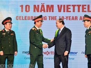 10 năm đầu tư quốc tế: Viettel có 35 triệu khách hàng nước ngoài, lọt top 30 thế giới