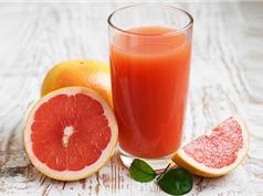 5 loại nước trái cây không nên dùng khi uống thuốc