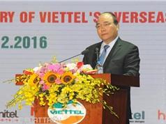 Thủ tướng: Viettel truyền cảm hứng đầu tư ra nước ngoài cho doanh nghiệp Việt