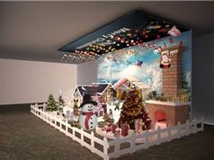 Cách bài trí nhà cửa đón Giáng Sinh đón tài lộc