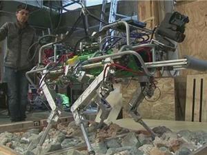 Italia phát triển loại robot bốn chân cho các vùng bị thảm họa