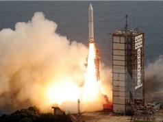 Nhật phóng thành công tên lửa sử dụng nhiên liệu cứng tân tiến