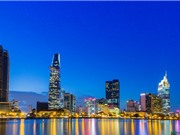 Chiêm ngưỡng vẻ đẹp lộng lẫy của Sài Gòn khi đêm về