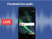 Facebook ra mắt tính năng Live Audio