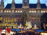 10 khu chợ đẹp rực rỡ cho đêm Giáng sinh ở châu Âu