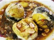 Trứng vịt lộn lọt top món ăn kinh dị trên thế giới