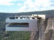Khách sạn cheo leo trên vách núi dựng đứng