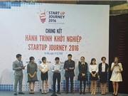 """Đã tìm ra chủ nhân cuộc thi """"Startup journey 2016"""""""