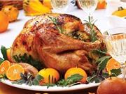 4 tác dụng đối với sức khỏe của món gà tây quay Giáng sinh