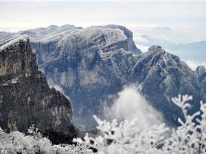 Ngắm cảnh mùa đông đẹp như cổ tích ở Hồ Nam
