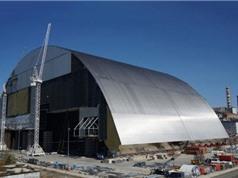 Ukraine hoàn thành mái vòm mới cho Chernobyl
