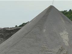 Hà Nam sản xuất cát nghiền từ đá mạt