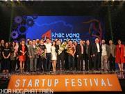 Khoảnh khắc 9 nhóm khởi nghiệp được vinh danh tại Startup Festival 2016