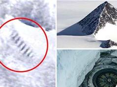 Dấu vết nghi ngờ là bãi đáp của người ngoài hành tinh ở Nam Cực