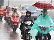 Áp thấp nhiệt đới áp sát biển Đông, miền Bắc sắp có mưa lớn