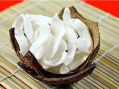 Clip: Hướng dẫn làm mứt dừa tại nhà