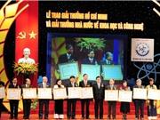 Sắp trao Giải thưởng Hồ Chí Minh; Giải thưởng Nhà nước về khoa học và công nghệ