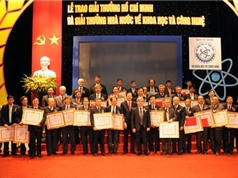 Những công trình được xét trao giải thưởng năm 2016: Diện mạo của nền khoa học Việt Nam