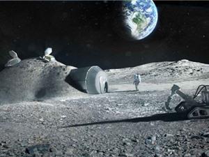Nơi ở mới của con người trên Mặt Trăng sắp được hình thành