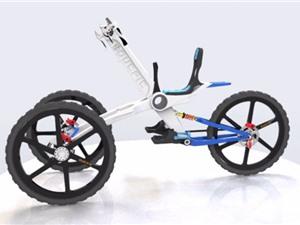 """Clip: Những mẫu xe đạp """"độc, dị"""" bậc nhất thế giới"""