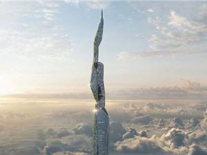 Tòa nhà cao 4,8km có khả năng lọc sạch không khí