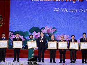 7 công trình và cụm công trình nhận Giải thưởng Nhà nước về khoa học và công nghệ